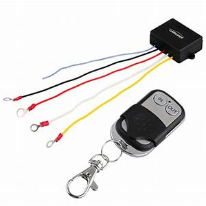 50ft 15m 12v Winch Wireless Remote Control Kit For Jeep