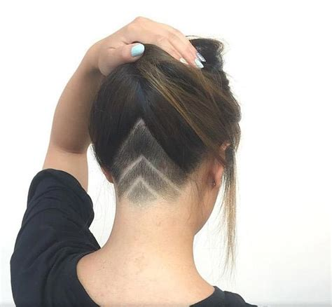 edgy undercut women hairstyle  badass women
