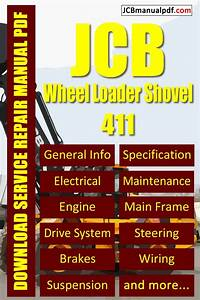 How To Repair Jcb Wheel Loader Shovel 411 Manual 527000