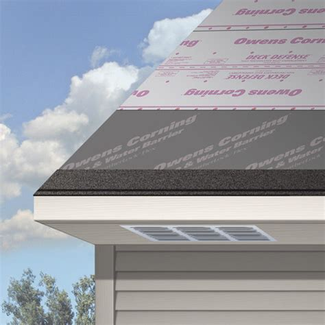 Owens Corning Deck Defense Synthetic Underlayment by Total Protection Roofing System Owens Corning Roofing