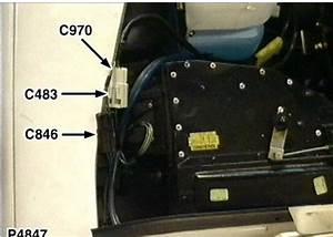 C846 Connector - Motor - Blower - Front
