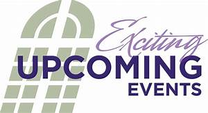 Churches Upcoming Events Clipart