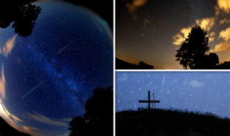 What Time Tonight Meteor Shower - perseid meteor shower pictures as stunning shower