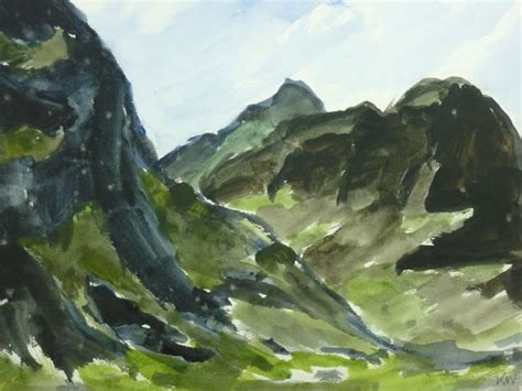 stunning paintings  sir kyffin williams