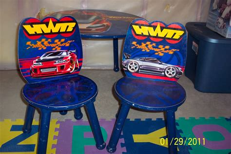cleaning   closets kids hot wheels table  chairs