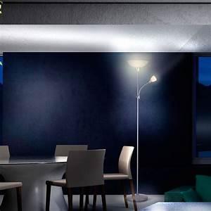 Stehlampe Stehleuchte Wohnzimmer Lese Lampe Deckenfluter