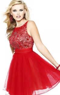 gallery for gt short red prom dresses with sleeves
