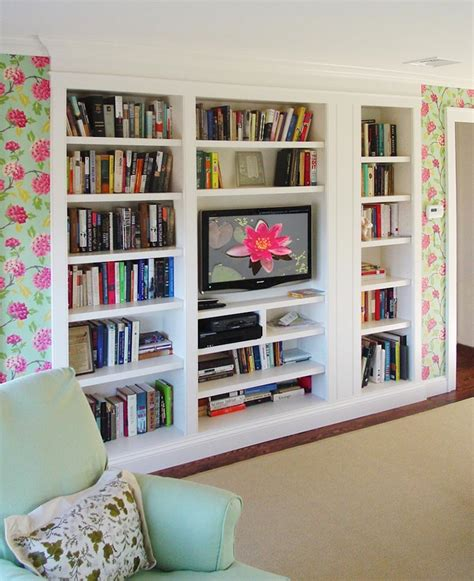 Decorating Ideas Bookshelves by Built In Bookshelves Design Ideas Home Trendy