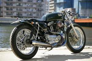 Racing Caf U00e8  Harley Xlh 1200 By Heiwa Motorcycles
