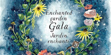 official invitation  enchanted garden gala santropol