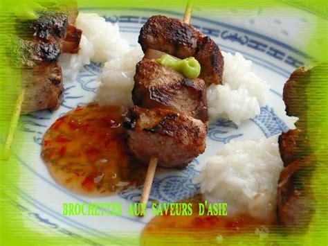 cuisine asiatique simple petites brochettes de bombay saigon et leur riz