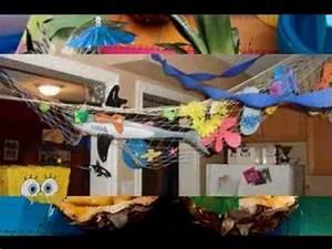 DIY Spongebob party decor ideas - YouTube