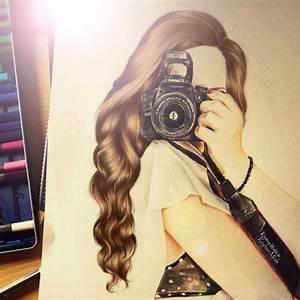 Long Hair Drawings Tumblr images