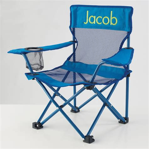 kidkraft personalized blue cing chair outdoor