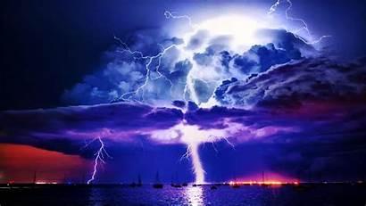 Lightning Storm Desktop Background Wallpapers Px Kb