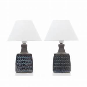 Lampe A Poser Scandinave : paire de lampes poser en c ramique scandinave galerie m bler ~ Teatrodelosmanantiales.com Idées de Décoration