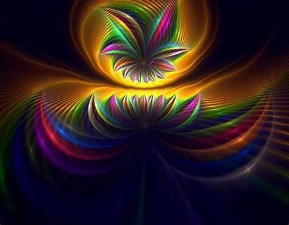 Explosion Eresaw Deviantart Fractal Colors Fractals Rainbow