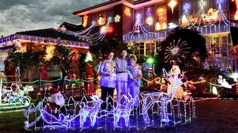 where to see best christmas light displays in melbourne