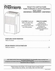 Danby Premiere Ddr7009ree User Manual