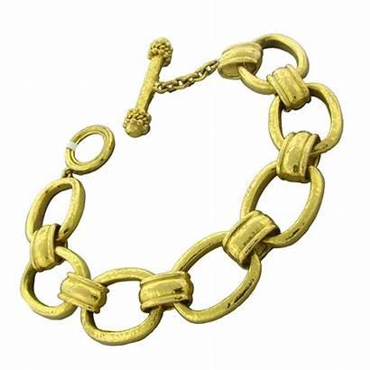 Gold Bracelet Bracelets Clipart Link Chain Jewelry