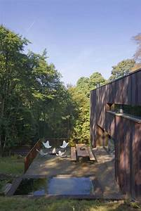 Jardin En Pente Raide : en images une maison moderne extraordinaire en pente raide maison moderne pinterest ~ Melissatoandfro.com Idées de Décoration