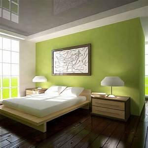 Bild Fürs Schlafzimmer : frische farben f rs schlafzimmer 59 wohnideen in gr n ~ Michelbontemps.com Haus und Dekorationen