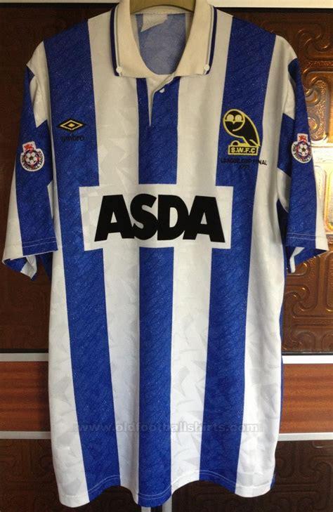 Sheffield Wednesday 1991 Cup Final Home Shirt - Sheffield ...