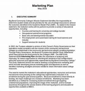 18 microsoft word marketing plan templates free With simple marketing plan template for small business