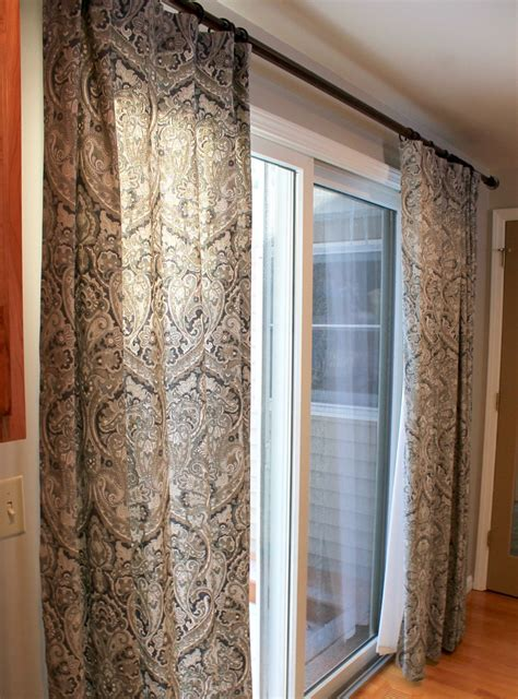 drapes sliding patio doors how to choose the best curtains for your sliding glass door