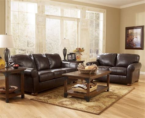 brown leather living room dark brown leather sofa