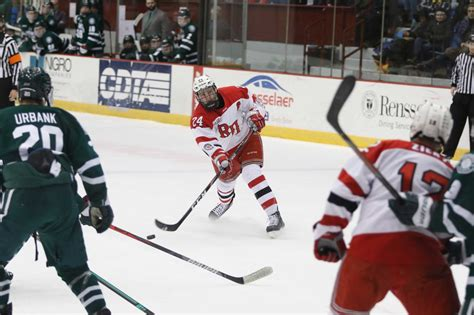 RPI hockey aiming for playoffs as Senior Night approaches