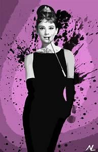 Audrey Hepburn Poster : audrey hepburn breakfast at tiffany 39 s hollywood icon illustration pop art home decor poster ~ Eleganceandgraceweddings.com Haus und Dekorationen