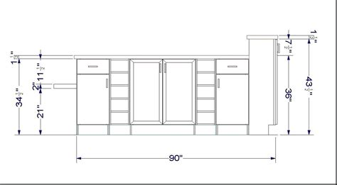 Standard Base Cabinet Sizes by Admirable Standard Kitchen Cabinet Sizes Swing Kitchen