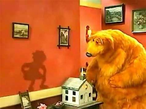 bear   big blue house      shadow