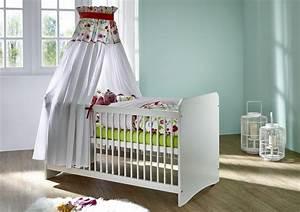 Babybett 70x140 Weiß : babybett 70x140 kiefer massiv wei lackiert ~ Indierocktalk.com Haus und Dekorationen