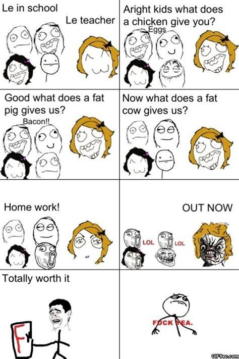 Meme Comic - funny 2014 rage comics worth it jpg