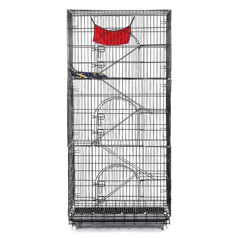 tooca  tier cat cage large pet playpen wire metal kitten crate kennel cat pla