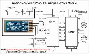 Robot  Robo Car Android Bluetooth Remote Control Project