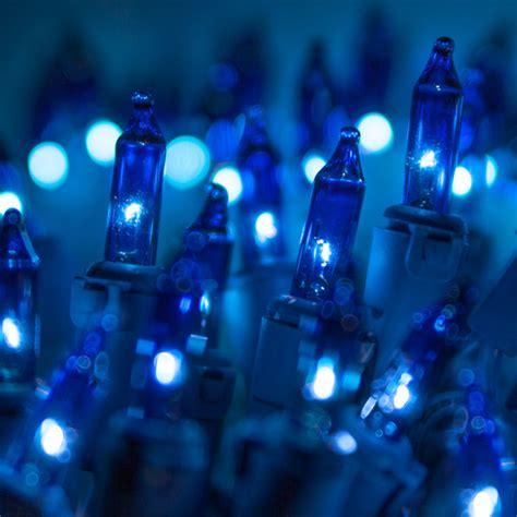 christmas lights 50 sky blue mini christmas lights 6