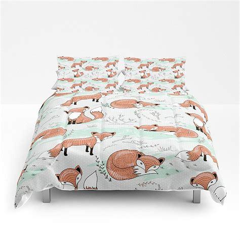 fox bedding comforter set or duvet cover bedding set