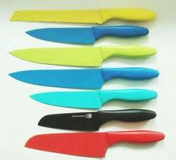 highest kitchen knives plastic handle nonstick knife set colorful kitchen knives