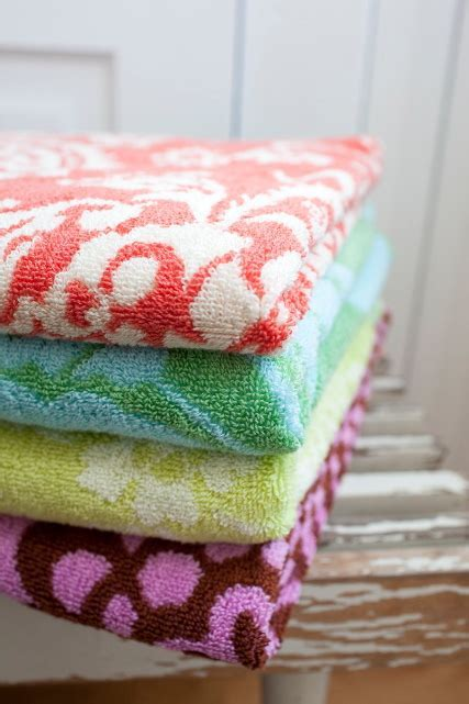 Amy Butler for Welspun Towels for Gift Guide Snob Essentials