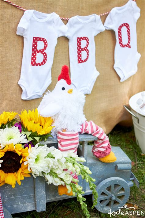 barbecue baby shower ideas how to throw a relaxed co ed baby q kate aspen