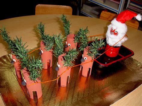 kerstman rendieren van wc rolletjes ea christmas