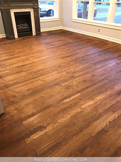 the oak flooring company staining red oak hardwood floors thefloors co