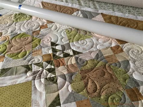 Longarm Quilting by Fabadashery Longarm Quilting Allietare Mystery Quilt 2015