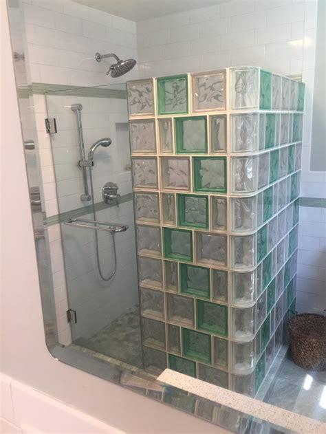 Glass Block Bathroom Designs by Design Supply Install Glass Block Showers Glass Block