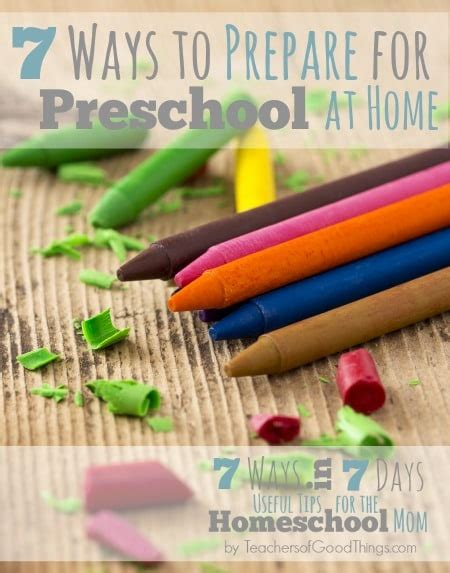 7 ways to prepare for preschool at home in the home 866   7 Ways to Prepare for Preschool at Home www.teachersofgoodthings.com .jpg