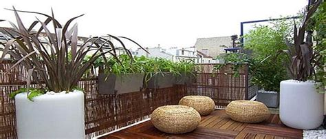 idees deco pour  balcon ou une terrasse intime