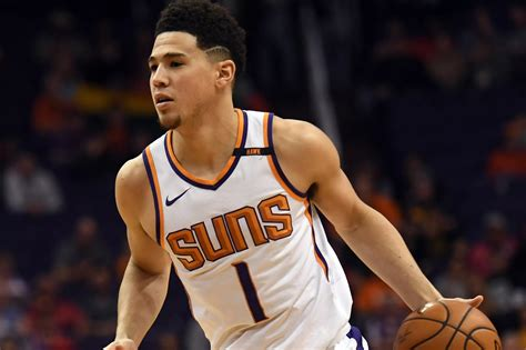 suns devin booker picked fourth  western conference